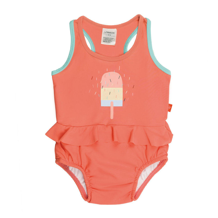 LÄSSIG Girls Splash & Fun Tanksuit Eis orange