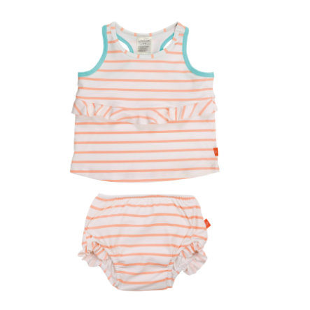 LÄSSIG Maillot de bain sans manche Splash & Fun, fille, orange