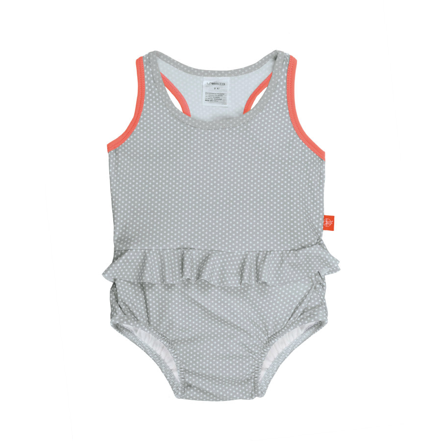 LÄSSIG Girl s Splash & Fun Tanksuit gris