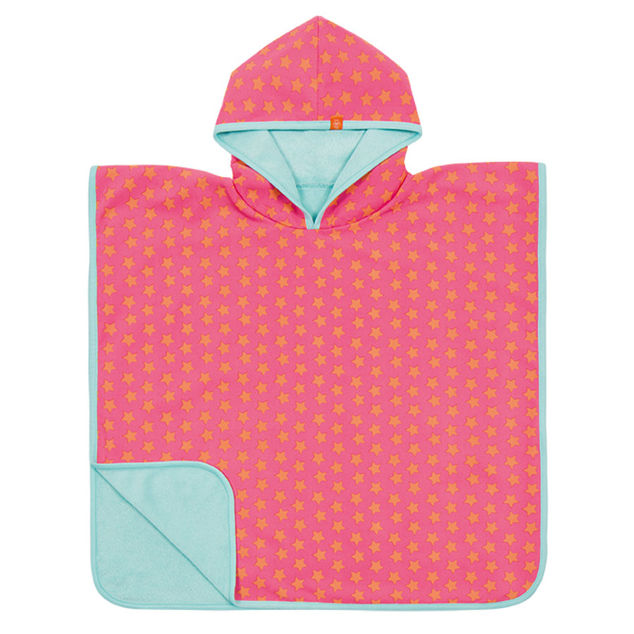 LÄSSIG Girls Splash & Fun UV-Poncho pink