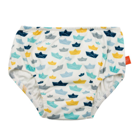 LÄSSIG Boys Splash & Fun Badehose white