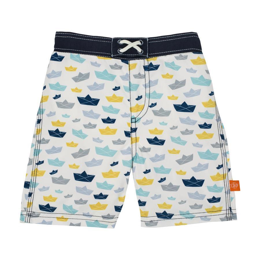 LÄSSIG Boys Splash & Fun Spodenki kąpielowe white
