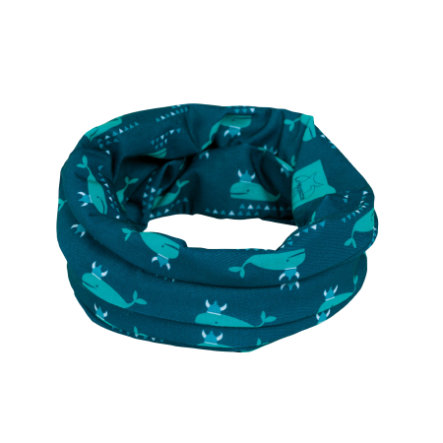 LÄSSIG Foulard enfant multiusage Splash & Fun bleu