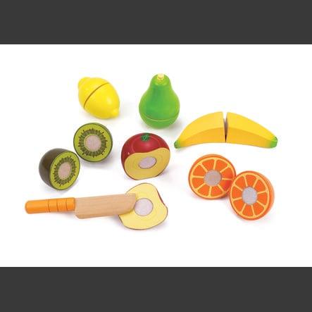 Hape Coffret fruits frais de saison bois E3117