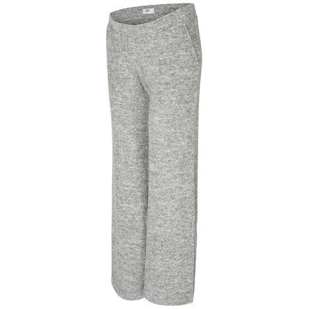 mama licious Pantalon de maternité mllounge gris clair melange