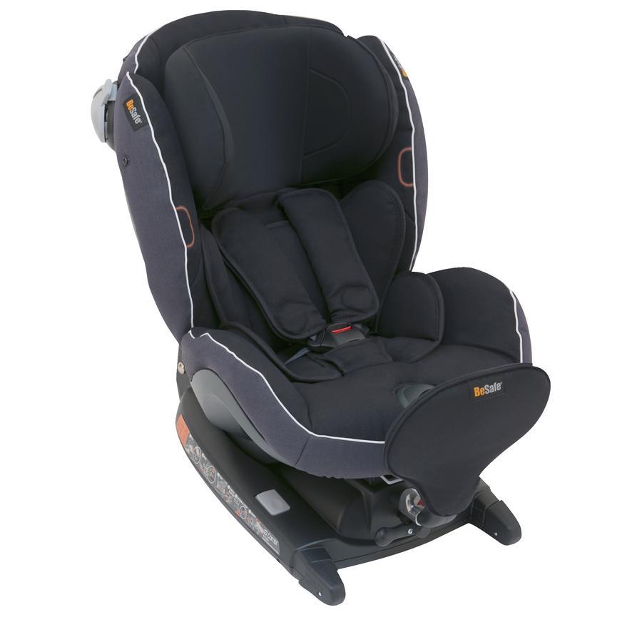 Hypermoderne BeSafe Kindersitz iZi Combi X4 ISOFIX Midnight Black Melange IW-65