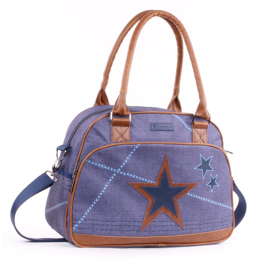 Kidzroom Wickeltasche L Superstar blau