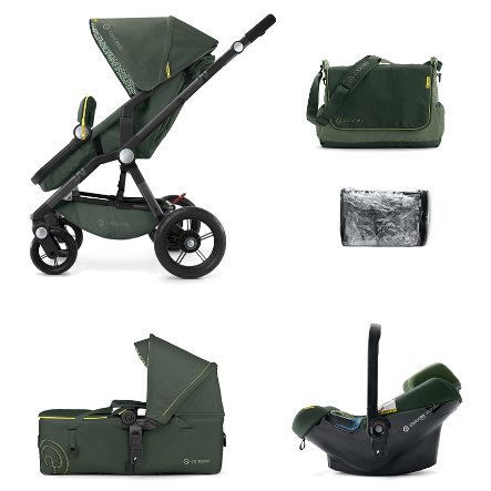 CONCORD Passeggino trio Wanderer Mobility-Set Jungle Green Limited Edition