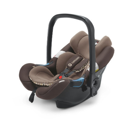 CONCORD Autostoel/ Reiswieg Air.Safe inclusief Clip Toffee Brown