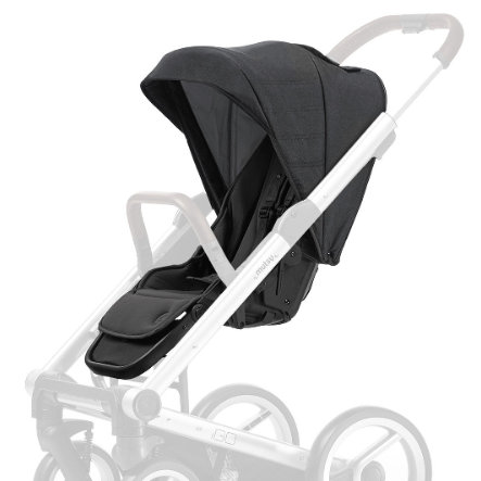 Mutsy IGO Sportwagensitz + Verdeck Reflect Dark Grey