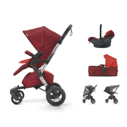 CONCORD Cochecito Neo Mobility-Set Flaming Red