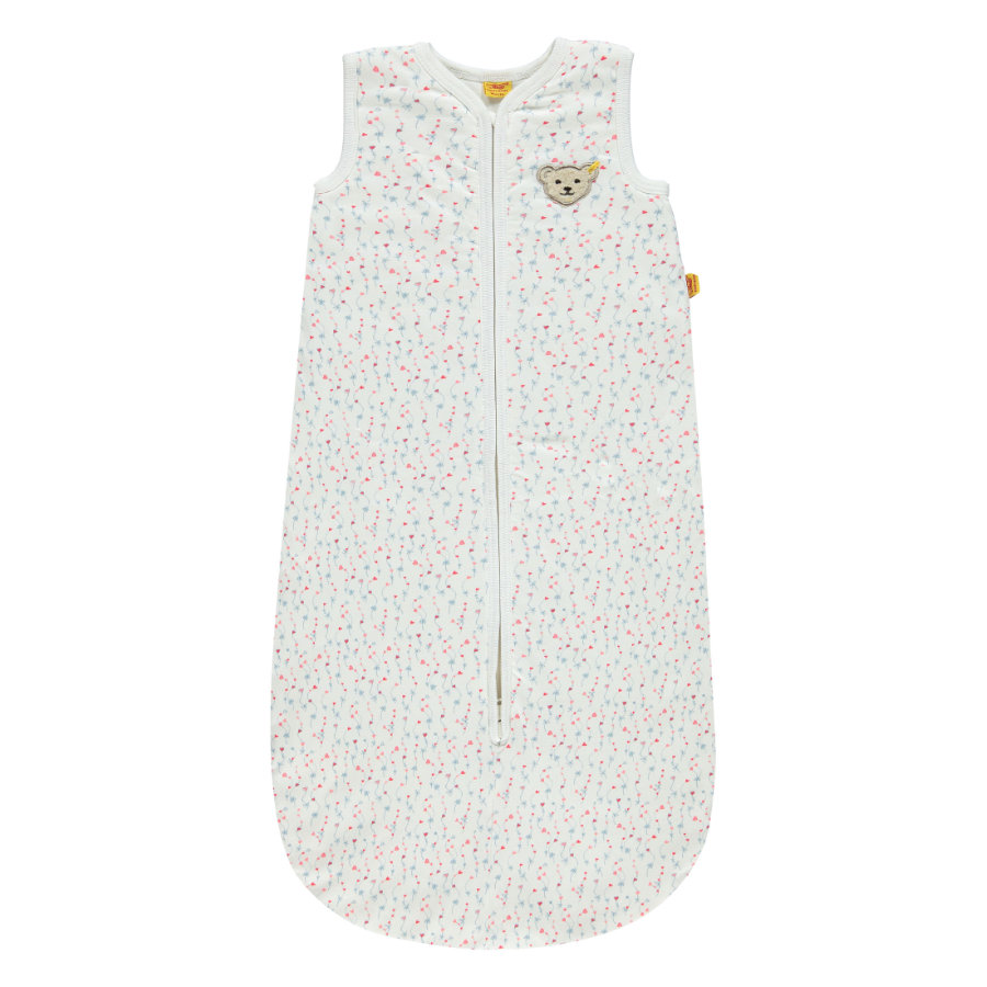 Steiff Girls Schlafsack flowers white