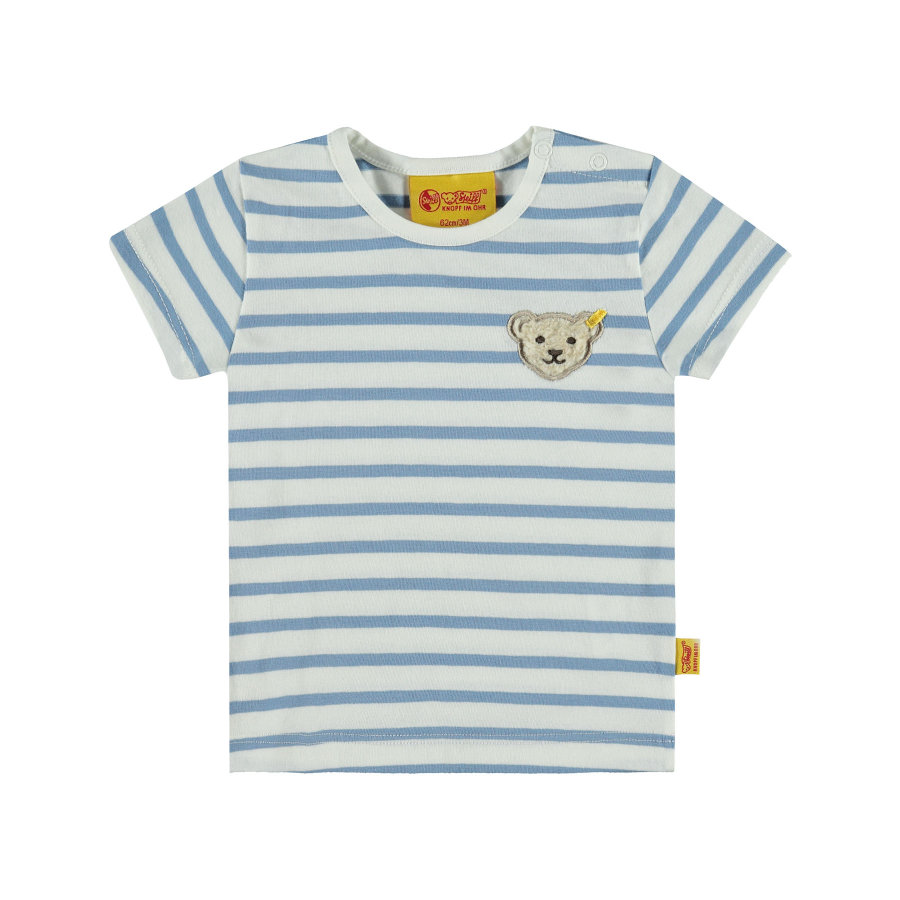 Steiff Girls T-Shirt Ringel allure blue
