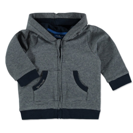 TOM TAILOR Boys Sweatjacke gestreift