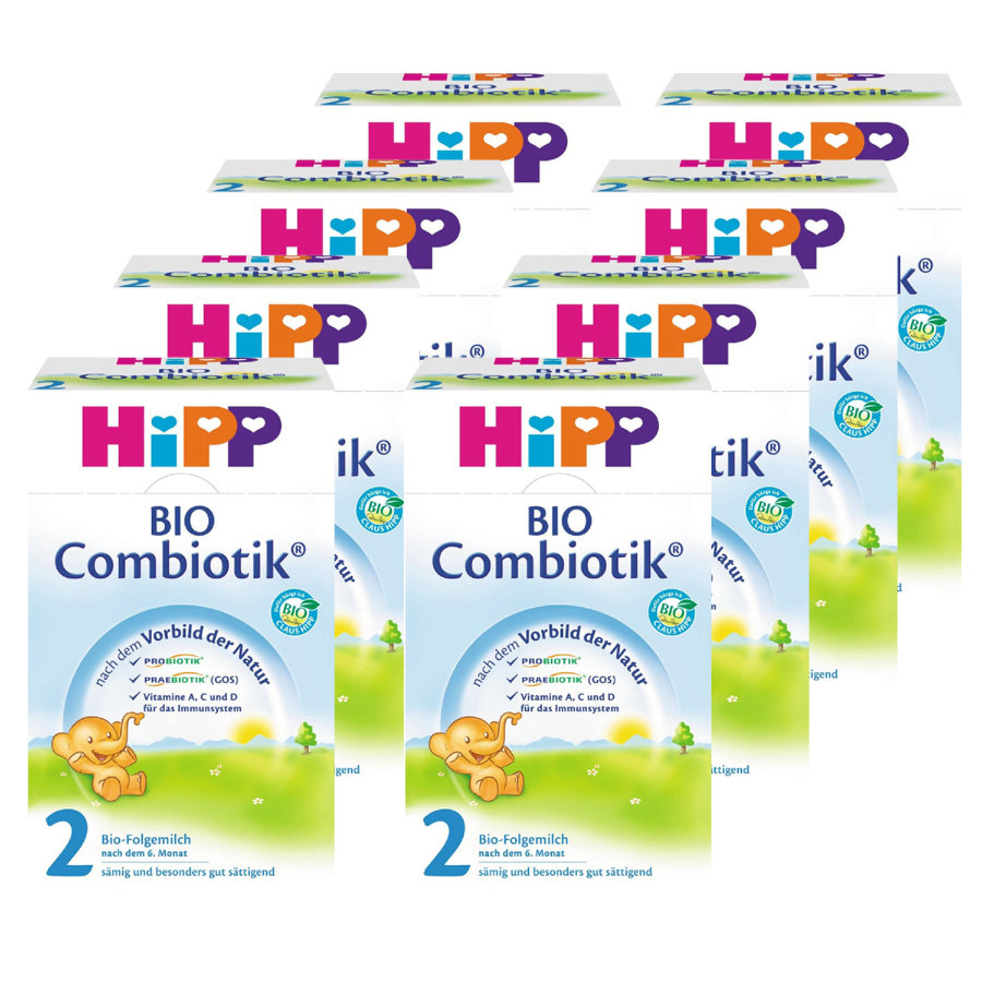 HiPP 2 Bio Combiotic® Follow-On Formula 8x600g