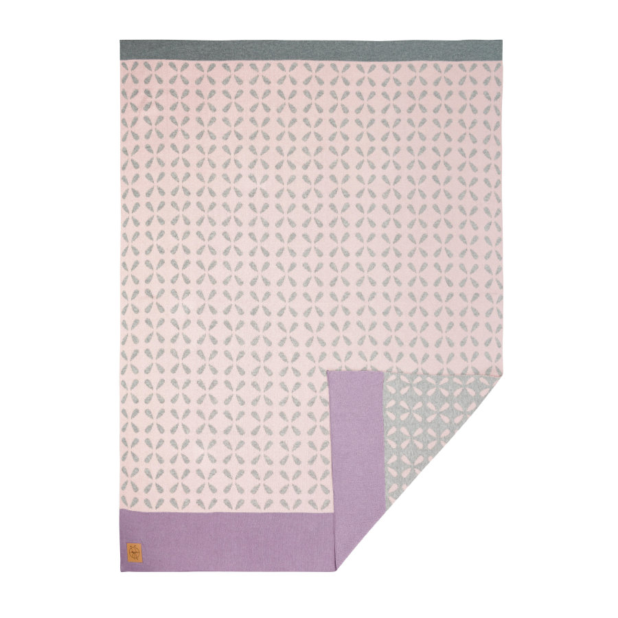 LÄSSIG Girls 4Babies Decke Sparkles light peach