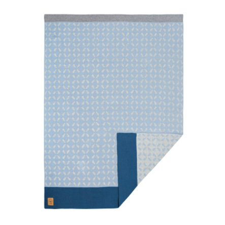 LÄSSIG Boys 4Babies Decke Sparkles light blue