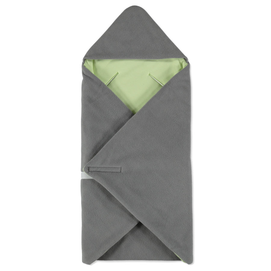 hobea germany einschlagdecke winter grau gr n. Black Bedroom Furniture Sets. Home Design Ideas