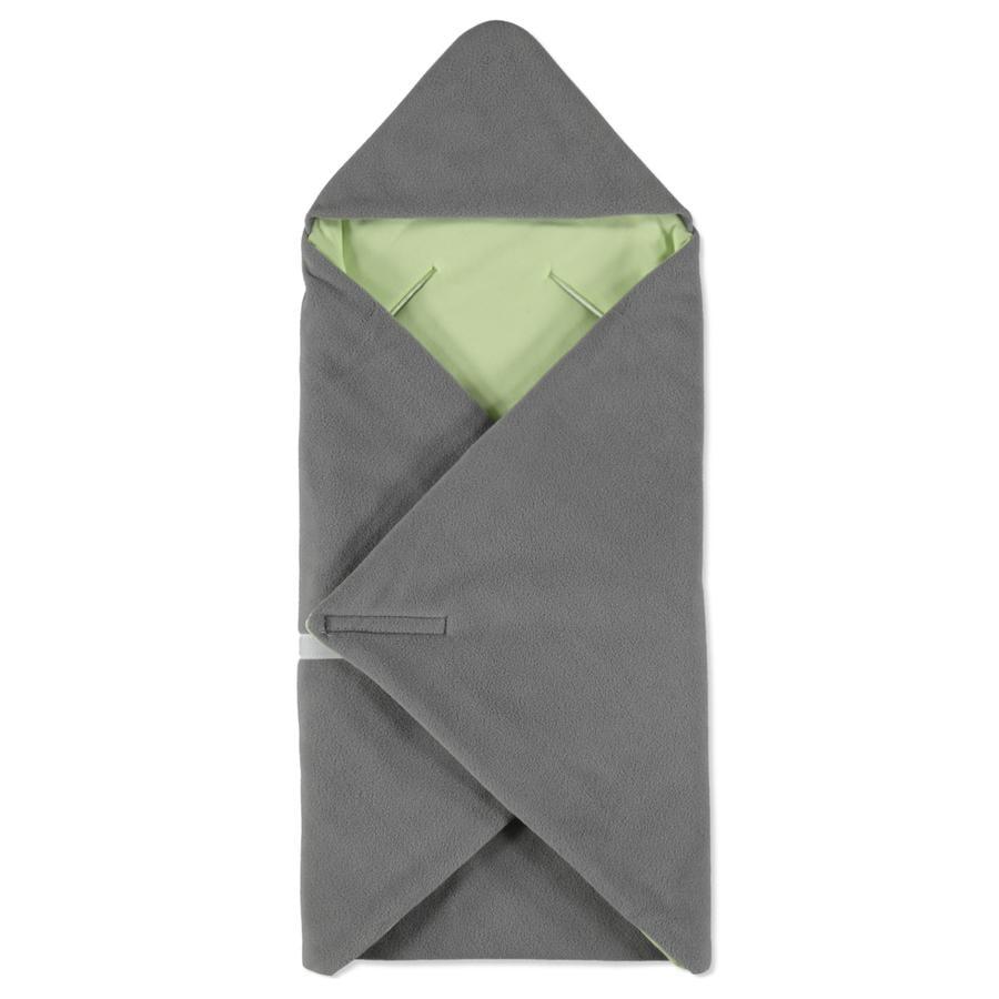 HOBEA-Germany Zavinovací deka zimní šedo-zelená