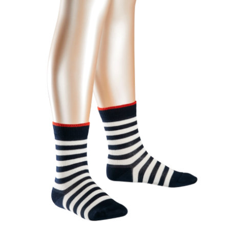 FALKE Socken Double Stripes marine