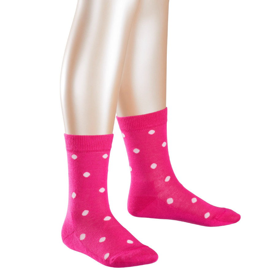 FALKE Girls Socken Dots pink
