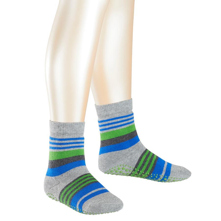 FALKE Irregular Stripe Socken light grey