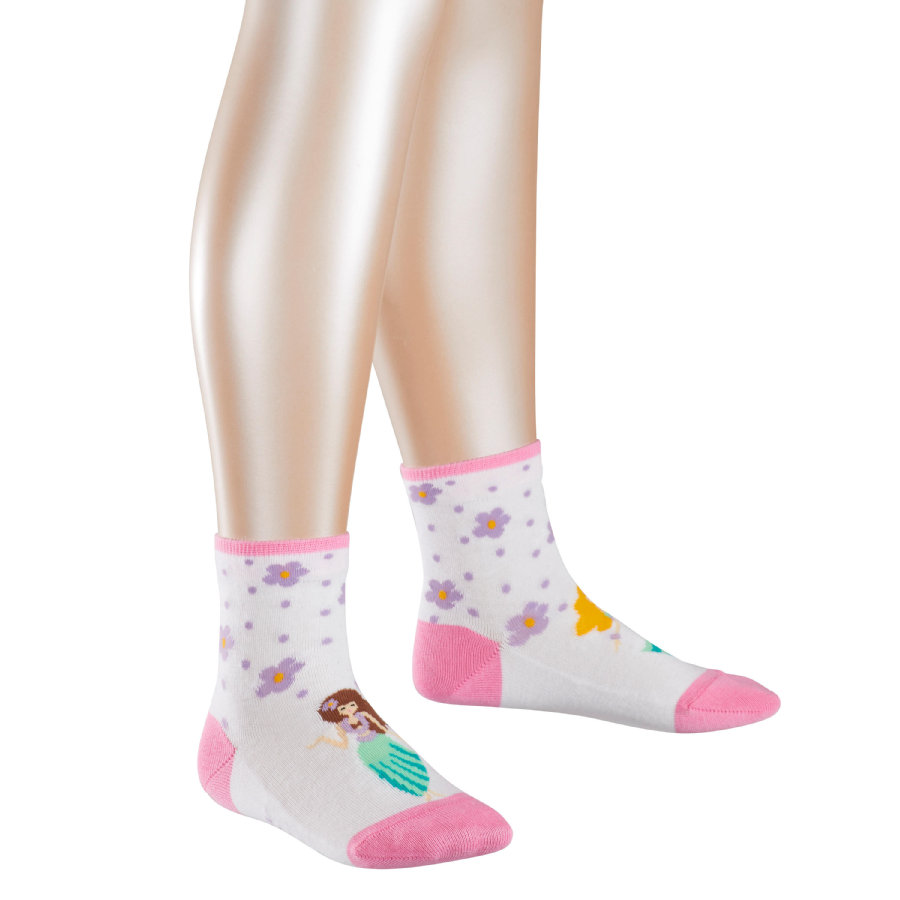 FALKE Girl Calcetines Hula Girl blanco