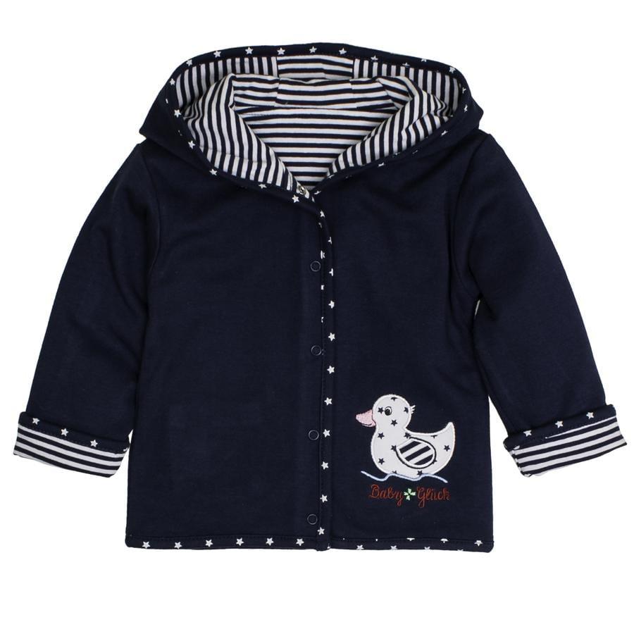 SALT AND PEPPER Veste réversible Baby luck Girl s bleu marine canard bleu marine