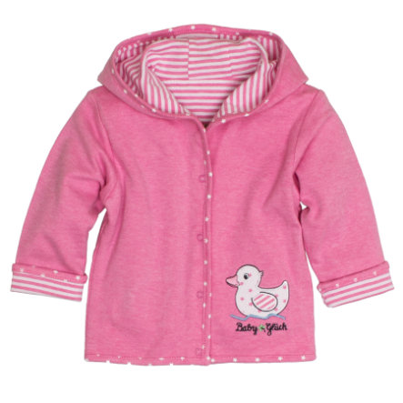 SALT AND PEPPER Baby Glück Girls Wendejacke Ente candy pink