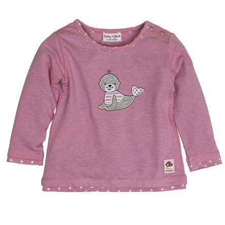 SALT AND PEPPER Baby Glück Girls Bluzka z długim rękawem Foka candy pink