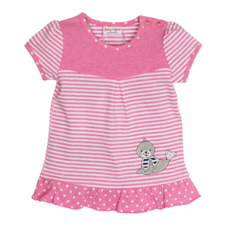SALT AND PEPPER Baby luck Girl s tuniek zeehondje snoep roze