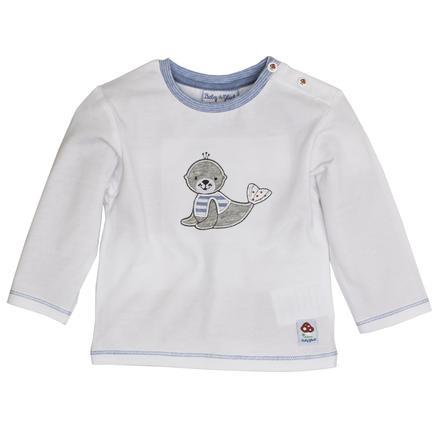 SALT AND PEPPER Baby Glück Boys Bluzka z długim rękawem Seehund white