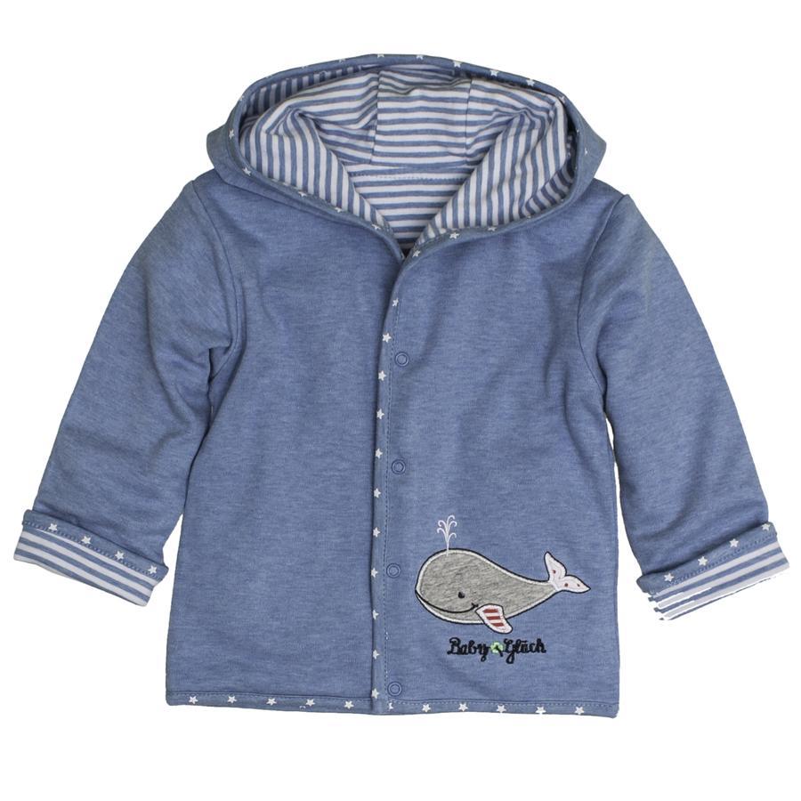 SALT AND PEPPER Baby Glück Boys Kurtka dwustronna Walfisch indigo blue