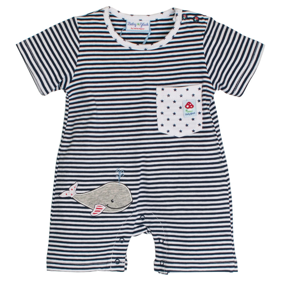 SALT AND PEPPER Baby Glück Boys Spieler Walfisch navy blue