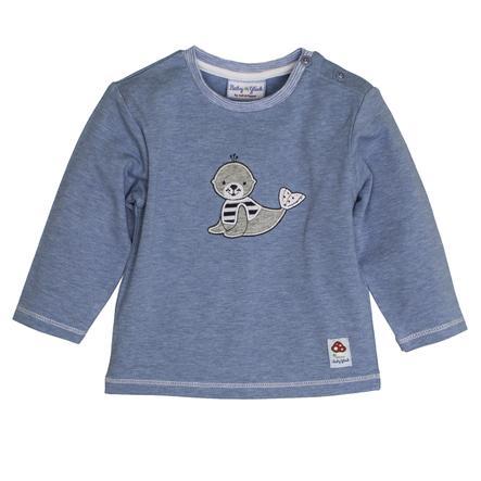 SALT AND PEPPER Baby Luck Boys Longsleeve seal indigo blauw