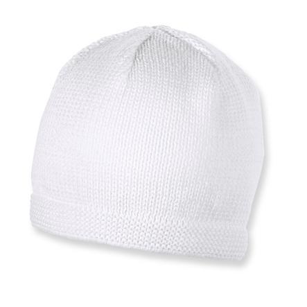 Sterntaler Bonnet tricoté blanc
