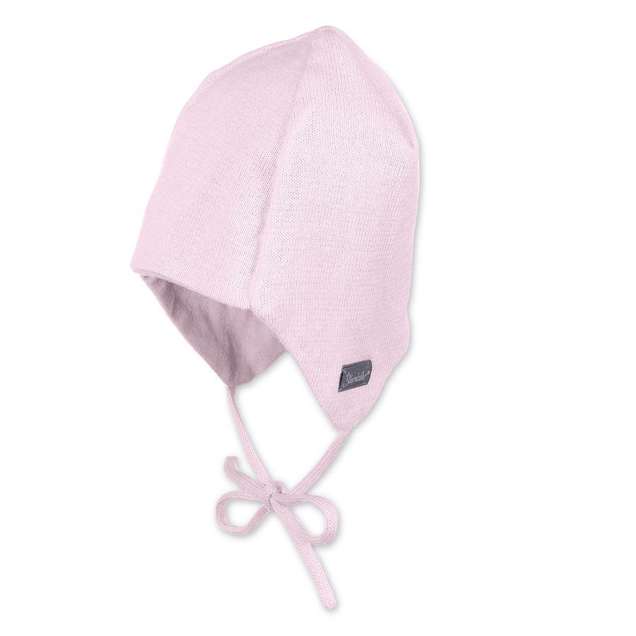 Sterntaler Girls Strickmütze Jersey rosa