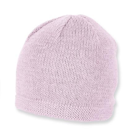 Sterntaler Stickad keps rosa