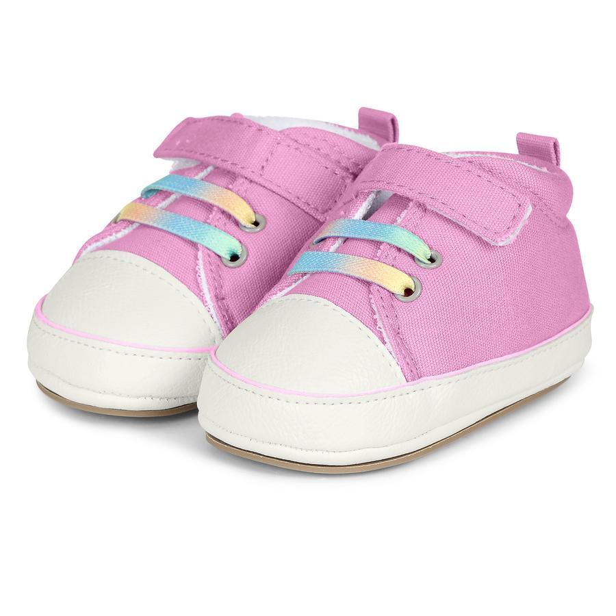 Sterntaler Girls Krabbelschuh mandelblüte-pink