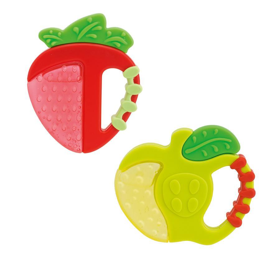 chicco Beißring Fresh Relax Erdbeere und Apfel ab 4 Monate