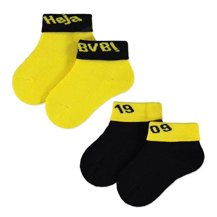 BVB-Babysocken 2er Pack