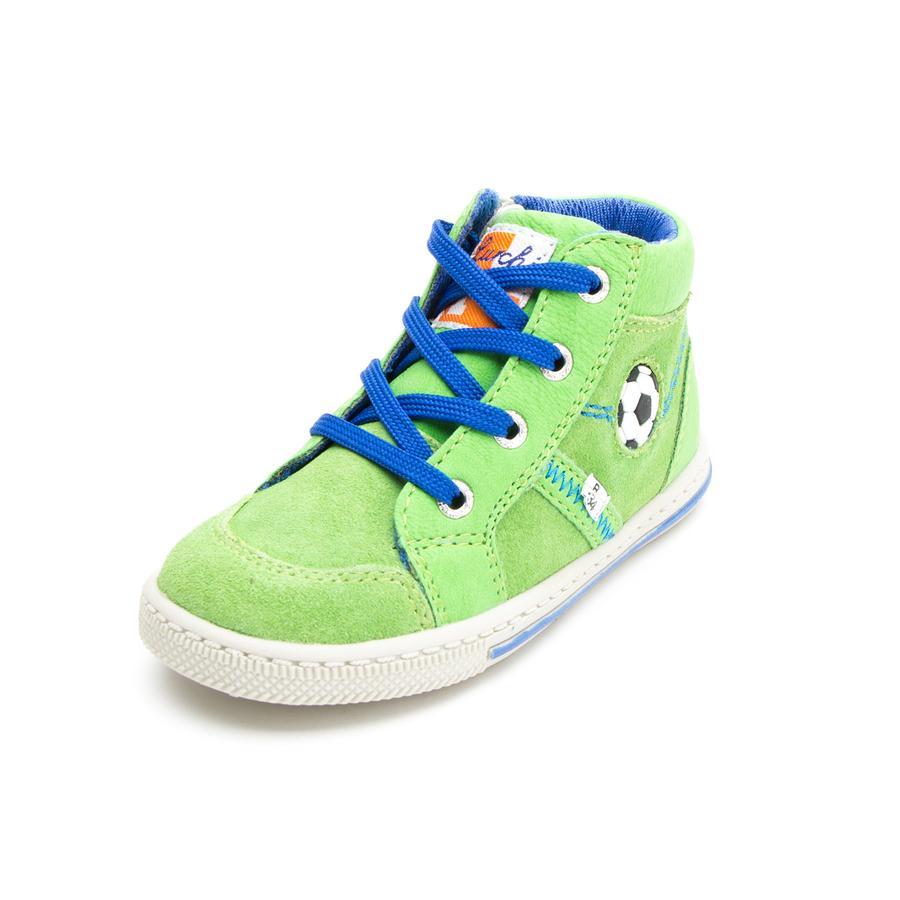Lurchi Boys Chaussure d'apprentissage Bingi vert