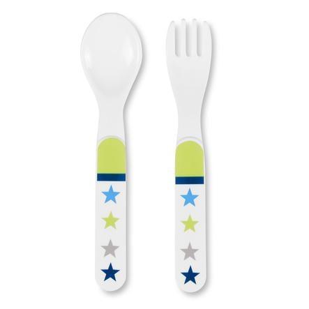 Sterntaler Set cuillère et fourchette Erik