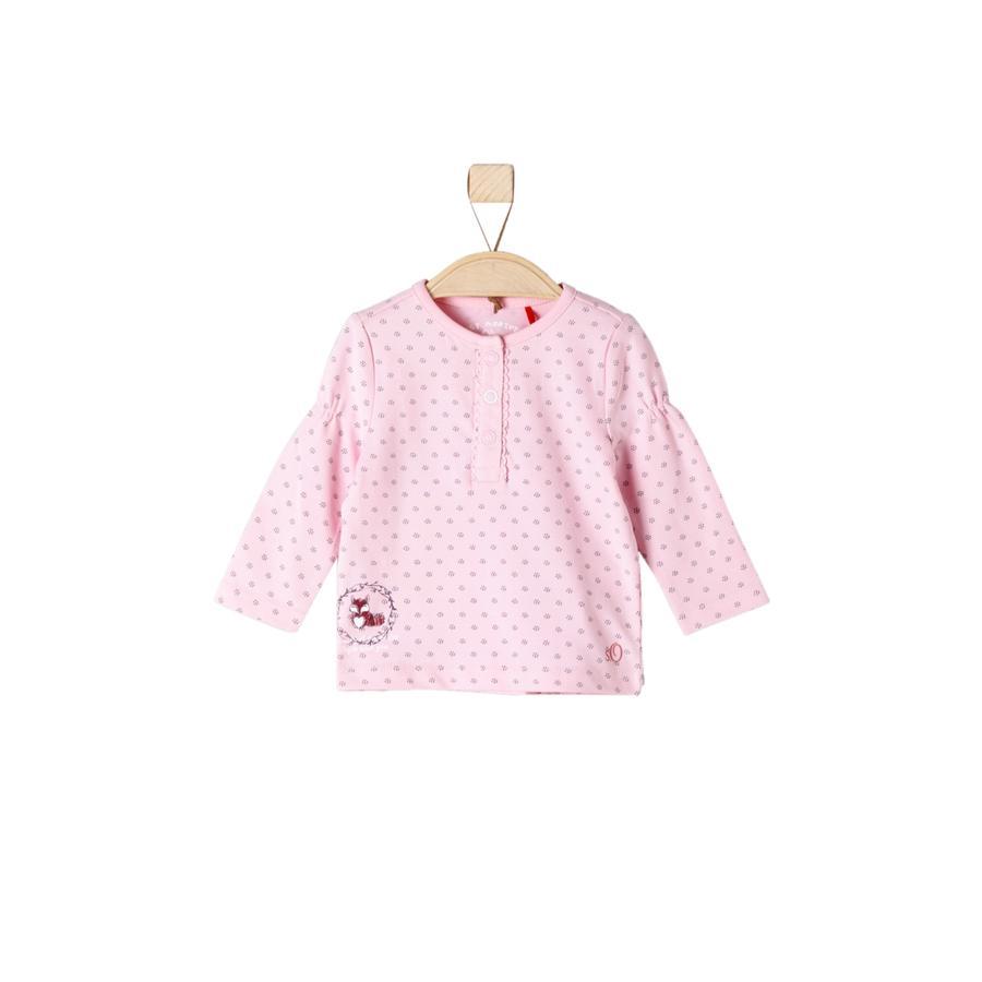 s.Oliver Girl s Longsleeve roze