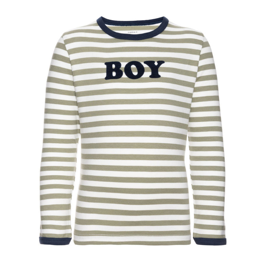 name it Boys Longsleeve Julius oil green