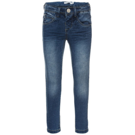 name it Girls Spodnie Jeans Bawarm light blue denim
