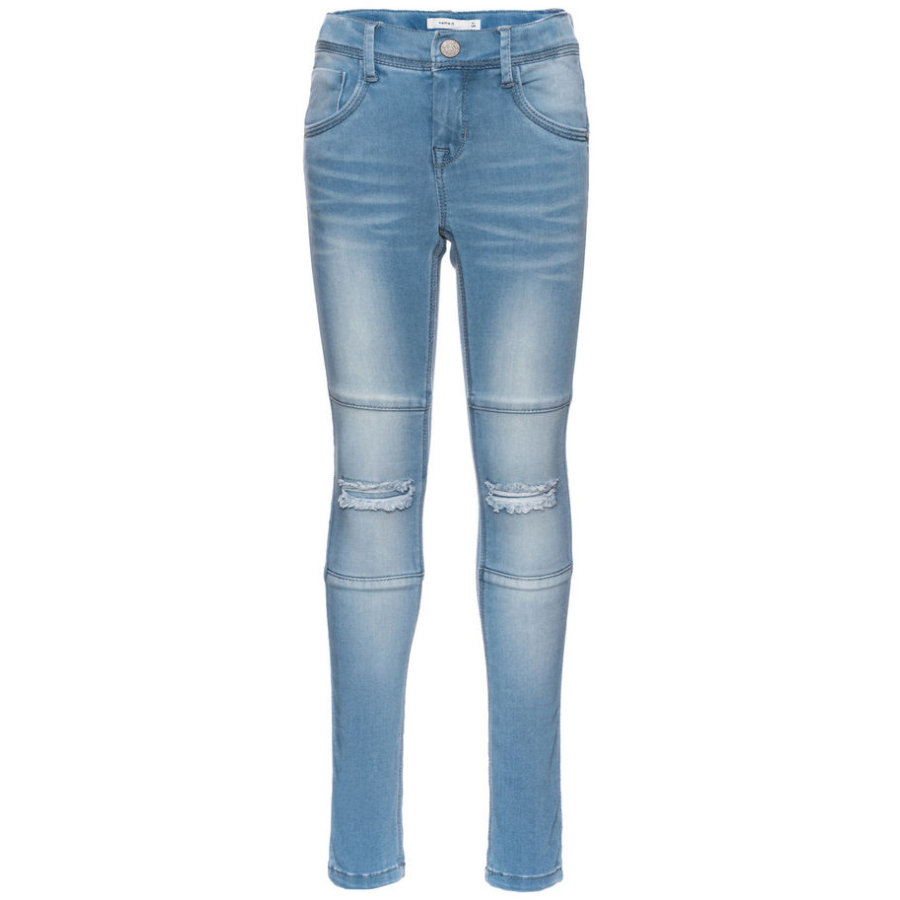 name it Tammy Spodnie Jeans light blue denim