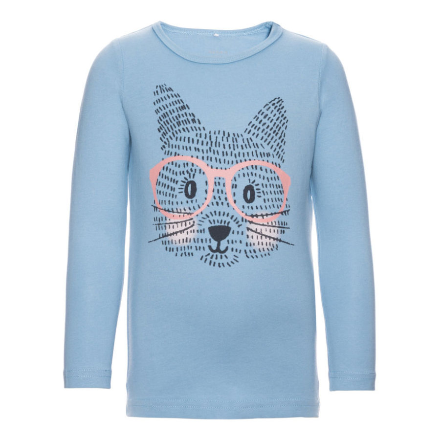 name it Girls Longsleeve Veencat dusk blue