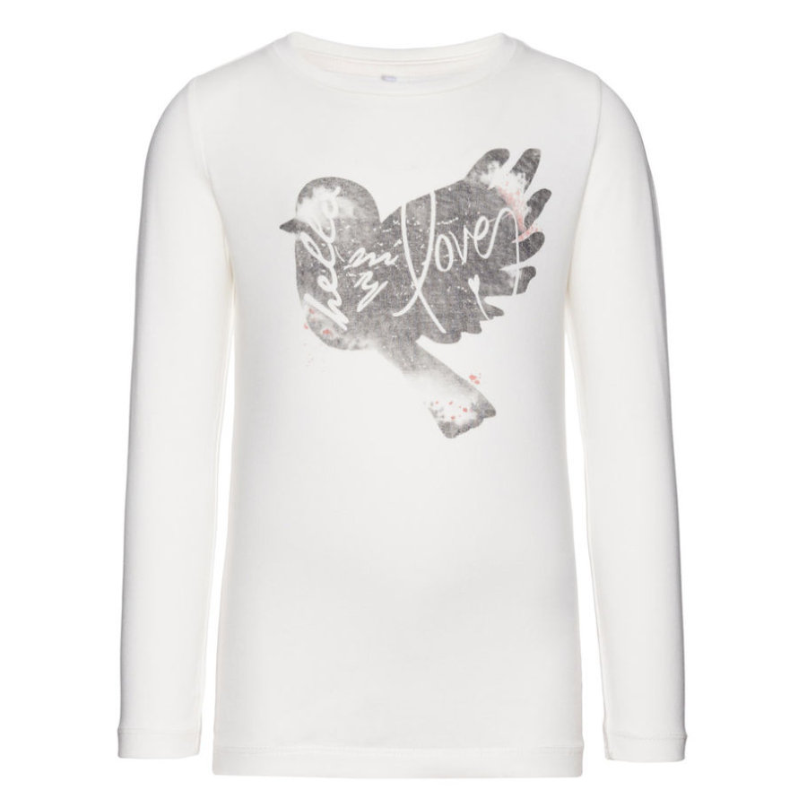name it Girls Longsleeve Vixdorit snow white