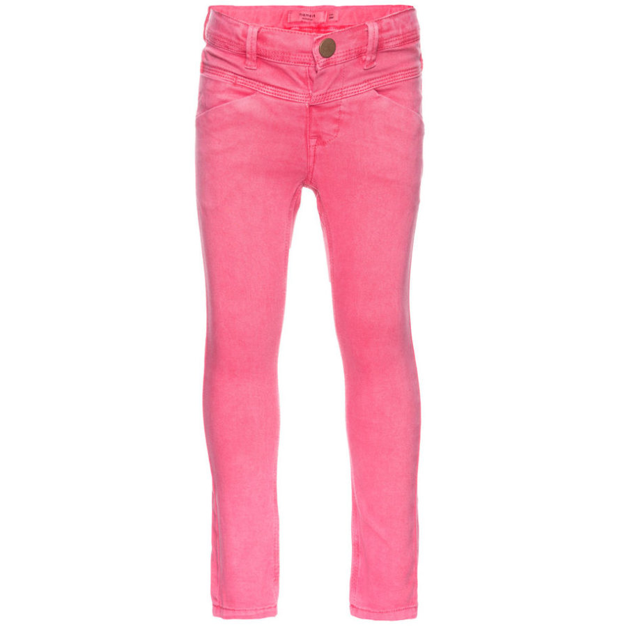 name it Girls Jeans Aline rapture rose